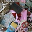 I can hardly see a dent in my old sewing stash.  Can you?